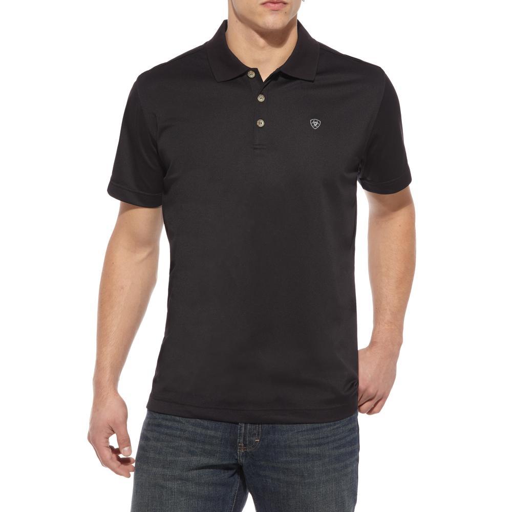 Ariat Mens Tek Short Sleeve Polo Shirt D Amp D Texas Outfitters