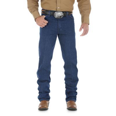 Wrangler Men's Premium Pre-washed Cowboy Cut Jeans