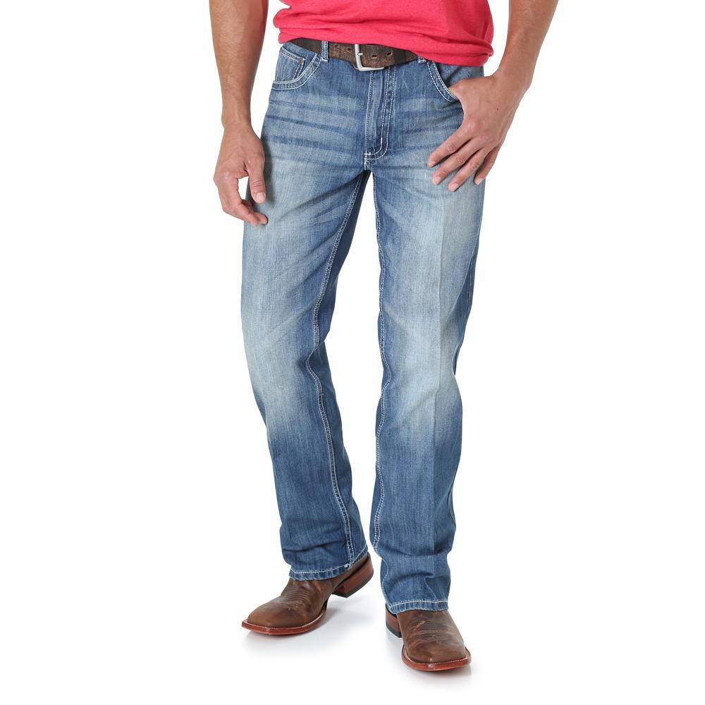 Wrangler Mens Vintage Boot Cut Jeans | D&D