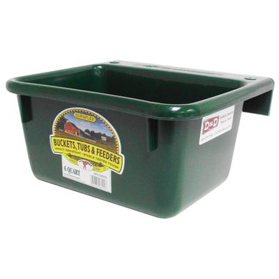 Miller Mfg. 6 Quart DuraFlex Plastic Mini Feeder, Green