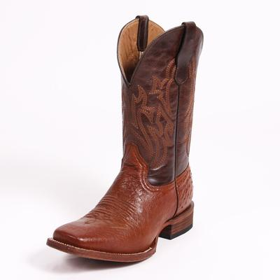 Circle G Mens Econo Line Anique Saddle Boots