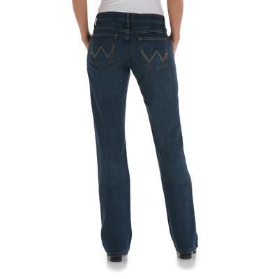 Wrangler Q Baby Mid Rise Womens Jeans