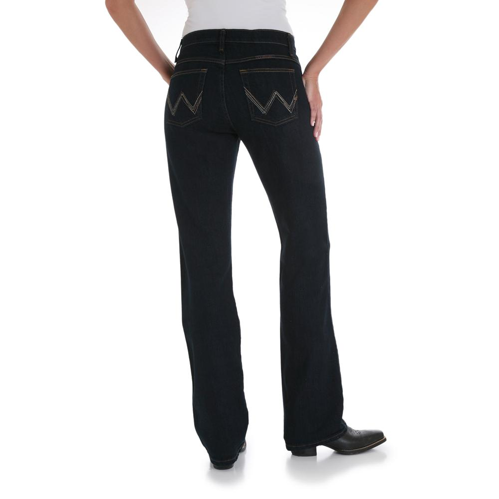 Wrangler Q Baby Mid Rise Boot Cut Womens Jeans D Amp D Texas