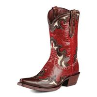 Ariat Reina Red Cowgirl Boots