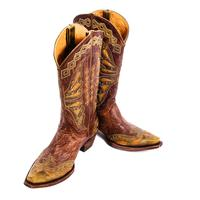 Old Gringo Ladies Monarca Brass/ Green Boot