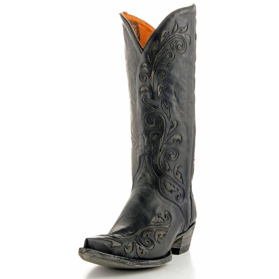 Old Gringo Estere Black Cowgirl Boots | D&D