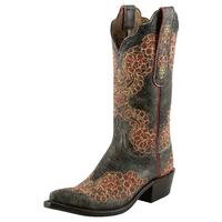 Lucchese 1883 Brown Aviator Cowgirl Boots