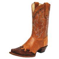 Tony Lama Tan Santa Fe Vaquero Western Boots