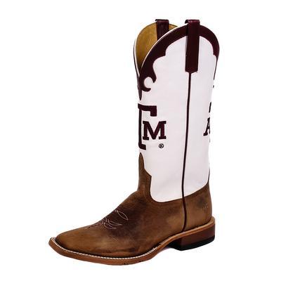 Anderson Bean White Texas A & M Boots
