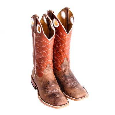 Anderson Bean Toast Bison Copper Top Cowboy Boot