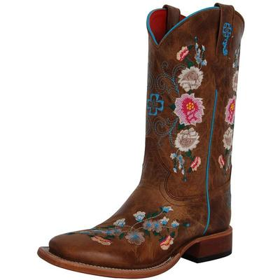 Anderson Bean Kids Honey Bunch Cowgirl Boots