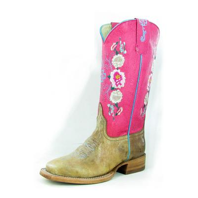 Anderson Bean Kids Floral Honey Bunch Cowgirl Boots