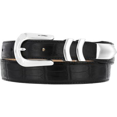 Brighton Crocodile Mens Belt