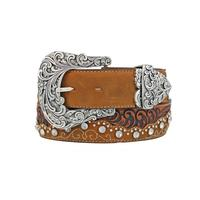 Tony Lama Kaitlyn Crystal Womens Belt