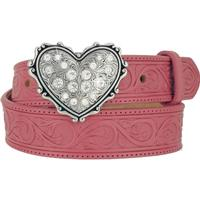 Justin Lil Cowgirls Heart Kids Belt