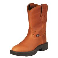 Justin Aged Bark Youth Work Boot