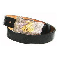 Leegin Youth Embossed Cowhide Belt