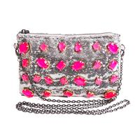Womens Sequin Crossbody Purse