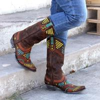 Old Gringo Apache Stitch Cowgirl Boots