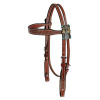 Martin Saddlery Gypsy Cowgirl Browband Headstall