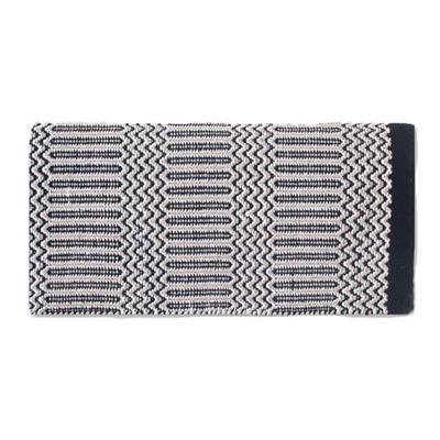 Mayatex Ramrod Double Weave Saddle Blanket BK/GY