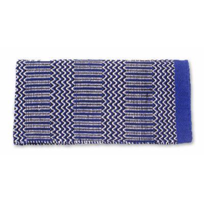 Mayatex Ramrod Double Weave Saddle Blanket BL/BK