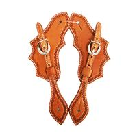 Martin Saddlery Oak Leaf Spur Strap