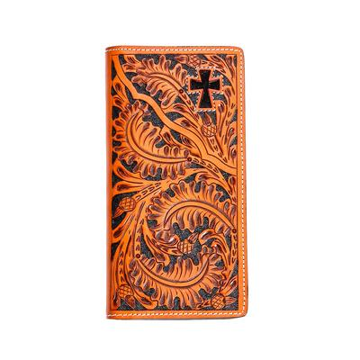 3D Belt Co. Antique Flower Wallet