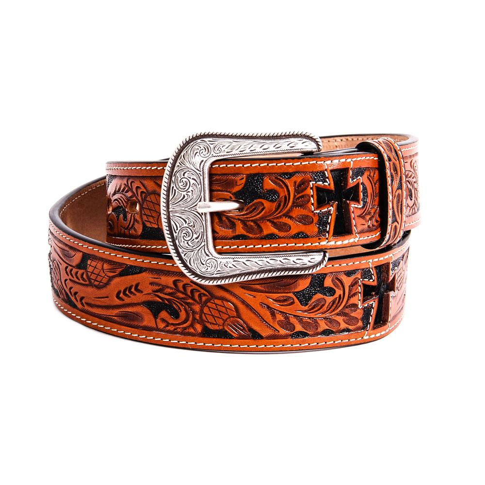 3d Belt Co Natural Mens Western Fashion Belt