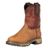 Tony Lama Tan Crazy Horse Youth Boots