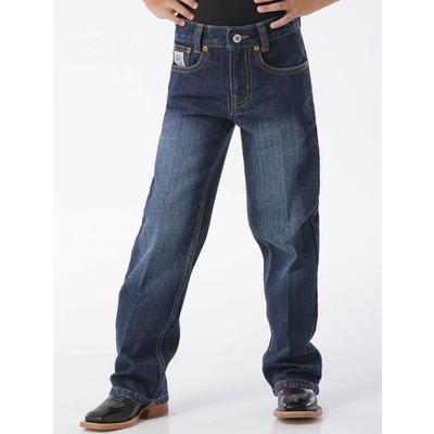 Cinch Boys Regular Fit White Label Dark Wash Jeans