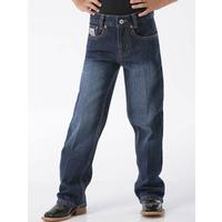 Cinch Boys White Label Dark Wash Slim Jeans