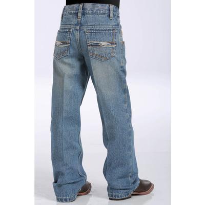 Cinch Little Boys Tanner Medium Stonewash Slim Fit Jeans