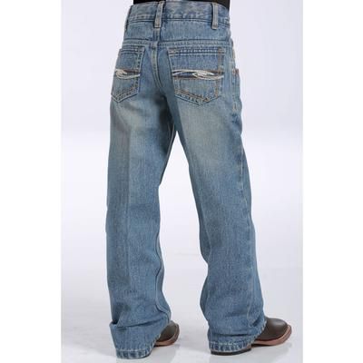 Cinch Boys Tanner Medium Stonewash Slim Fit Jeans