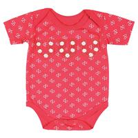 All Around Baby by Wrangler Short Sleeve Girls Bodysuit