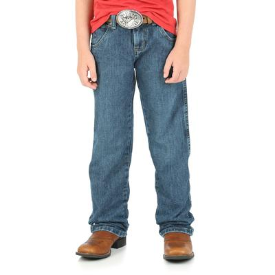 Wrangler Boy's Everyday Blue Retro Straight Jeans