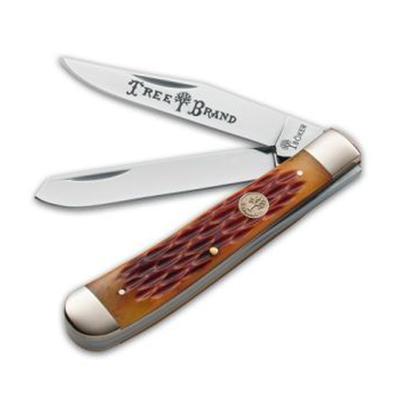 Boker Brown Bone Trapper Knife