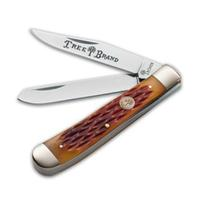 Boker Brown Bone Trapper Knife