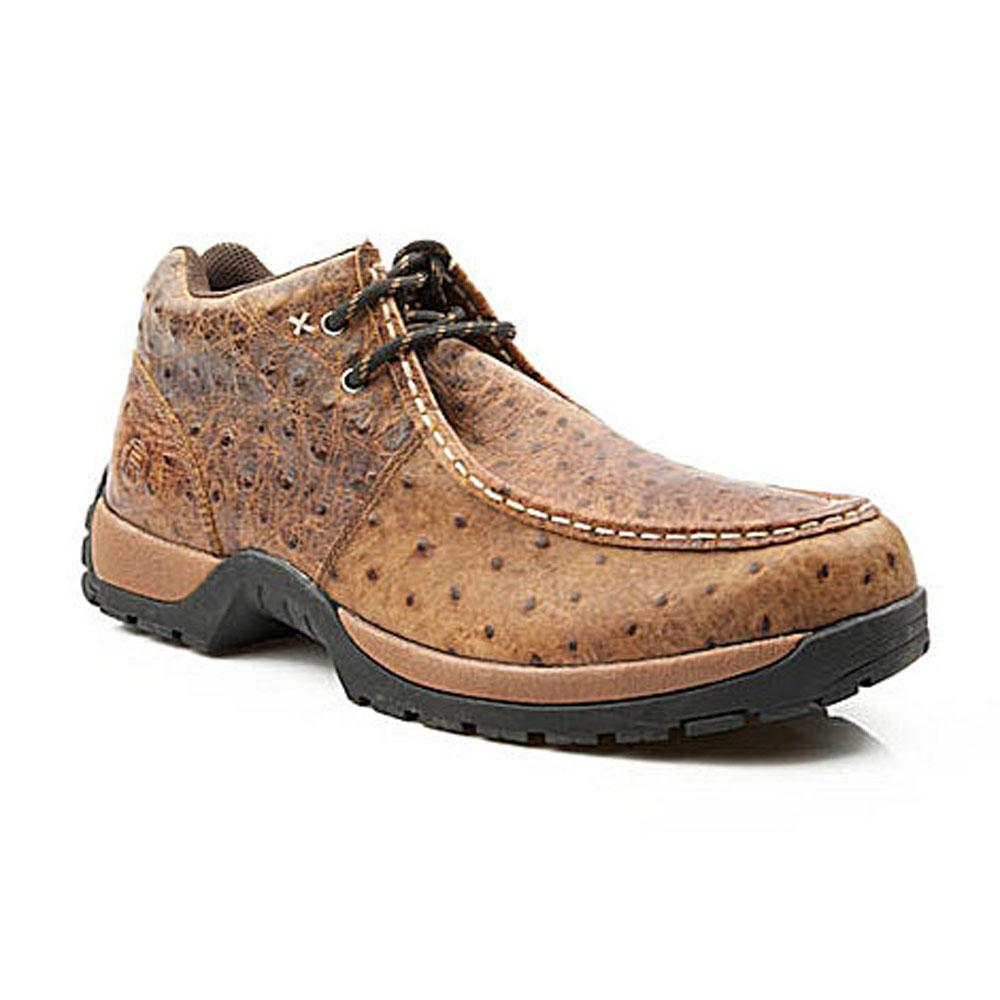 Mens Roper Ostrich Shoes