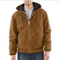Carhartt Quilted Flannel Lined Sandstone Active Jacket