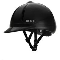 Legacy Black Slim Profile Riding Helmet