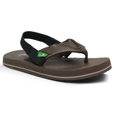 Sanuk Boy's Root Beer Crazy Sandals