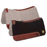Bayou West Contoured Wool Felt/Neoprene Saddle Pad