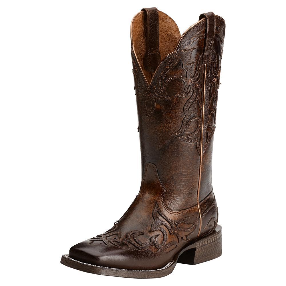 Ariat Cassidy Mahogany Cowgirl Boots | D&D