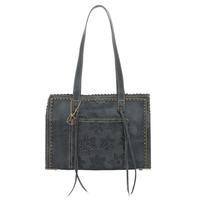 American West Steel Blue Womens Tote