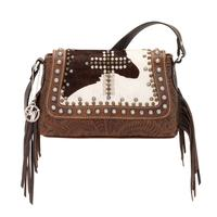 American West Home on the Range Womens Crossbody Purse