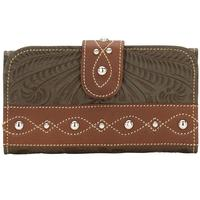 American West Over the Rainbow Womens Wallet