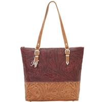American West Uptown Girl Womens Briefcase Tote