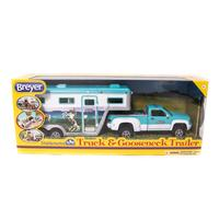 Truck and Gooseneck Trailor Toy