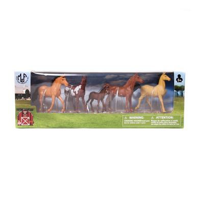 Bigtime Barnyard Horse Playtime Set